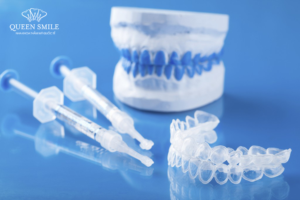 Máng tẩy trắng răng tại nhà đang được nhiều người lựa chọn